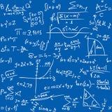 Table de maths illustration stock