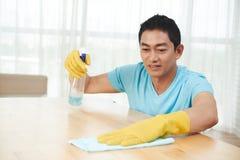 Table de nettoyage photos libres de droits