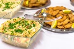 Table de nourriture Photos stock