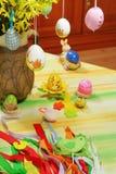 Table de Pâques Photos libres de droits