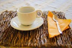 Table de petit déjeuner Image stock