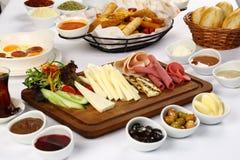 Table de petit déjeuner photo libre de droits
