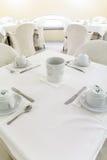 Table de petit déjeuner dans un hôtel Photo libre de droits