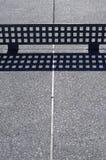 Table de ping-pong extérieure Photographie stock