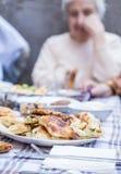 Table de pique-nique Images stock
