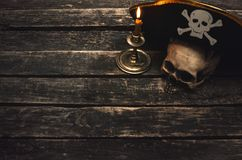 Table de pirate image stock