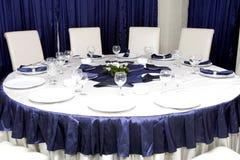 Table de réception Images stock