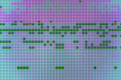 Table de récupération de lecteur de disque dur avec des secteurs de hdd image stock