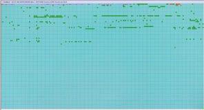 Table de récupération de lecteur de disque dur avec des secteurs de hdd images libres de droits