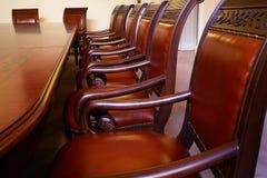Table de réunion photo libre de droits