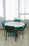 Table de réunion photographie stock