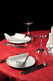 Table de restaurant Image libre de droits