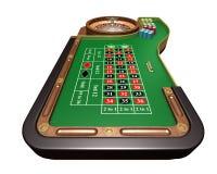 Table de roulette Illustration Libre de Droits