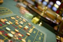 Table de roulette Photographie stock