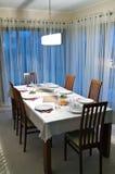 Table de salle à manger images libres de droits