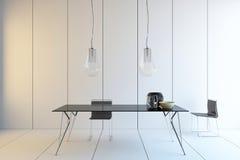 Table de salle à manger Photo libre de droits