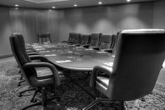 Table de salle du conseil d'administration de conférence photographie stock libre de droits