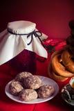 Table de thé russe Photos libres de droits