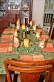 Table de thanksgiving image libre de droits