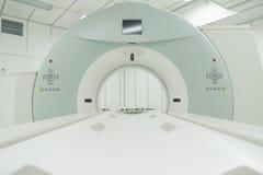 Table de tomographie calculée de rayon X Photos libres de droits