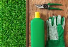 Table de travail de jardinier Photographie stock libre de droits