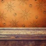 Table de vacances de Halloween Photographie stock