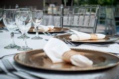 Table decor Stock Photography