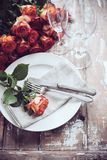Table decor Royalty Free Stock Photography