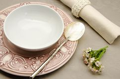 Table decorated Royalty Free Stock Images
