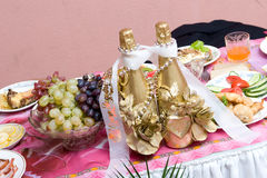 Free Table Decorated For Wedding Royalty Free Stock Image - 4741696