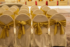 Table decorated for wedding Stock Image