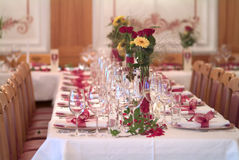 Table decoration Royalty Free Stock Images