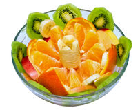 Table decoration, dessert. Fruit salad. Useful tasty food Royalty Free Stock Photos