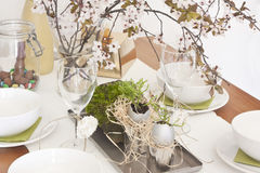 Table decoration Stock Photography