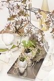 Table decoration Stock Image