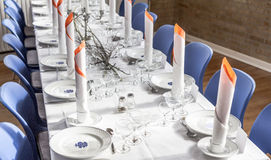 Table decoration Royalty Free Stock Photos
