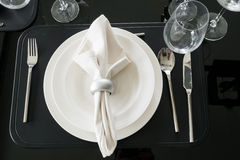 Table decoration for meal time Royalty Free Stock Photo