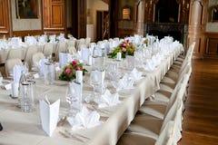 Decoration wedding. Table decoration for wedding dinner ceremony Stock Photos
