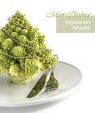 Table Decoration With Romanesco Royalty Free Stock Photo