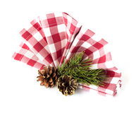 Table decorations for christmas Royalty Free Stock Photography