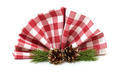 Table decorations for christmas Royalty Free Stock Images