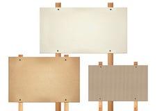 Table des messages rectangulaire Photo libre de droits