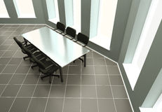 Table des négociations Photo libre de droits