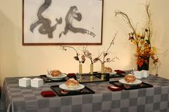 Table design in Japan Stock Images