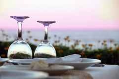 Table for dinner Royalty Free Stock Photography