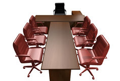 Table of the director royalty free stock images