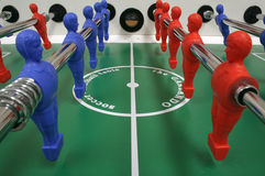 Table du football Image stock