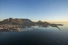 table du sud de montagne de l'Afrique Photo libre de droits