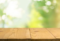 Empty wooden table, wooden planks, background. Table empty wooden wood background horizontal design Royalty Free Stock Images