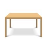 Table en bois illustration de vecteur
